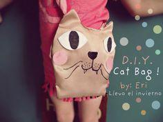 Llevo el invierno: DIY Cat bag for kids