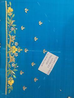 Sudhasri hemaswardrobe Black Blouse Designs, New Saree Blouse Designs, Hand Work Blouse Design, Simple Blouse Designs, Stylish Blouse Design, Bridal Blouse Designs, Embroidery Works, Hand Embroidery Designs, Saris