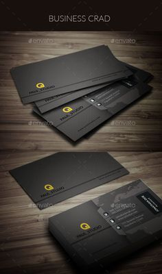 Business Card — Photoshop PSD #business card #modern design • Available here → https://graphicriver.net/item/business-card/17404312?ref=pxcr
