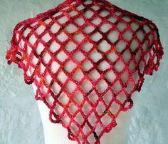 Quick N Easy Shawl Crochet Pattern,LINDO ESTE CHALES EM CORRENTINHA DE CROCHE,MARAVILHOSO