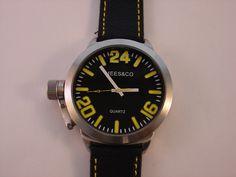 Mees & Co grote horloges voor zowel dames als heren. Mooi design, Japans quartz uurwerk en prachtige doorgestikte leren band.