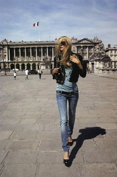 """""""Woman on a Mission"""" with Carmen Kass by Terry Richardson Vogue Paris"""