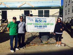 Come visit us! Discover @ 647 Andover Street - Lawrence, MA #MVReStore #ReStore #HabitatReStore #MVHH