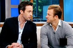 These 2 n their Bromance will prolly be the death of me... #McDanno #OCaan #H50 #AlexOLoughlin #ScottCaan