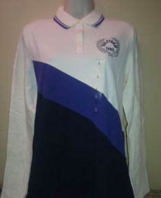 2012 Tommy Hilfiger Authentic Womens Polo L-NWT #TommyHilfiger #PoloShirt #Casual