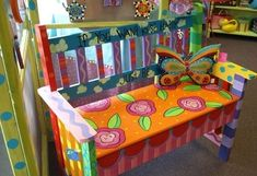 Funky Hand Painted Furniture | funky handpainted furniture acces. / Fun by isabella