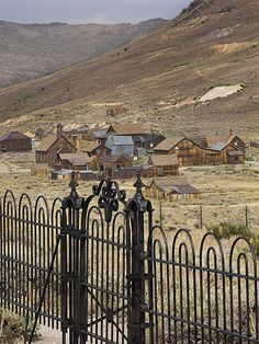 "The Scariest Places in America | BODIE, CALIFORNIA | Considered one of the country's most authentic ghost towns, this Gold-Rush– era mining settlement still has about 100 structures standing, including a jail, firehouse, and church. It's part of the California and is in a state of ""arrested decay,"" meaning nothing has been touched since it was designated a historic site in 1962."