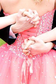 couple's prom photo