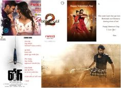 Tollywood news: Baahubali Valentine's Day card, Rogue first look, Ravi Teja to launch Winner song