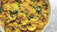 Chickpea, quinoa and turmeric curry. From Deliciously Ella, book two
