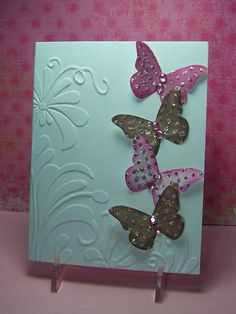 QFTD55 To Honor A Queen **** I want this embossing folder.  So pretty!