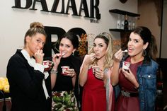 Anna Fasano, Nicole Pinheiro, Ane Medina, Denise Gebrim #houseofhaagendazs #spfw