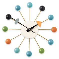 Nelson Ball Clock  Designed by George Nelson and Associates, produced by Vitra