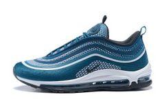 62f86f3e3fd8 Mens Sneakers Nike Air Max 97 Ultra 17 Blue White Black Men s Sneakers