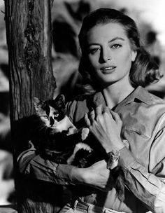 Capucine (real name: Germaine Hélène Irène Lefebvre, born: January 6, 1928, Saint-Raphaël, France - 17 March 1990, Lausanne, Switzerland) was a French fashion model and actress. She is best known for The Pink Panther (1963) and What's New Pussycat? (1965). She appeared in 36 films and 17 television productions between 1948 and 1990.