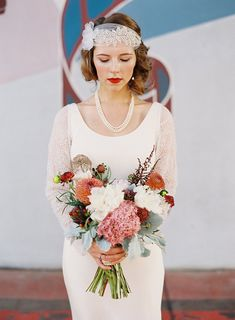 These 1920's Vintage Wedding Ideas created and captured by Jeff Brummett Visuals will have you swooning over its sheer glitz and glamor.