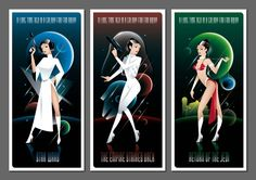 Star Wars Geek Art: PRINCESS LEIATrilogy - News - GeekTyrant