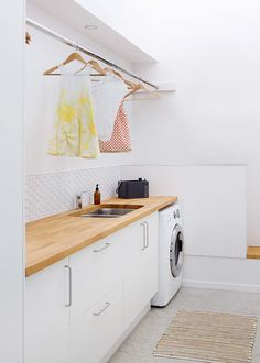A laundry to love makes washing, drying and ironing a breeze
