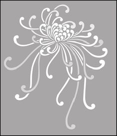 Asian Motif Stencils | Fruit and Flower stencils from The Stencil Library. Buy from our range ...