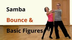 Samba Bounce Exercise and Basic Figures / Latin Dance
