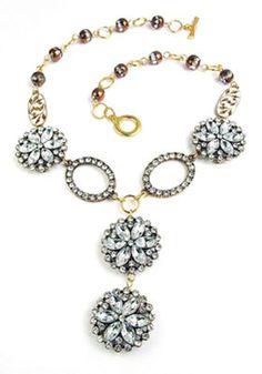 Fine China Necklace, large