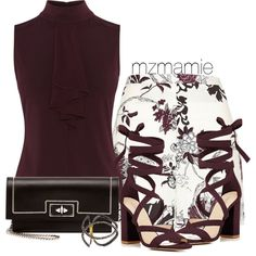 Untitled #2787 by mzmamie on Polyvore featuring мода, River Island, Barneys…
