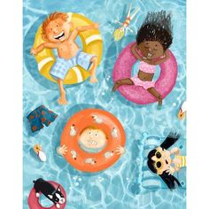 colleen madden Drawing For Kids, Painting For Kids, Art For Kids, Group Art Projects, Children's Book Illustration, Watercolor Illustration, Lessons For Kids, Art Lessons, Die Kleinen