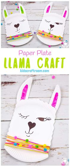Paper Plate Llama Craft 2019 This Paper Plate Llama Craft is so adorable! Its a quick and easy paper plate craft for kids and llama fans! The post Paper Plate Llama Craft 2019 appeared first on Paper ideas. Arts And Crafts For Teens, Art And Craft Videos, Easy Arts And Crafts, Crafts For Girls, Paper Plate Crafts For Kids, Paper Crafts For Kids, Paper Crafting, Fun Crafts, Craft Kids
