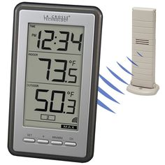 digital indoor/outdoor wireless thermometer from LaCrosse Technology. $39.63