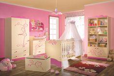 Bedroom Designs for Baby Girl