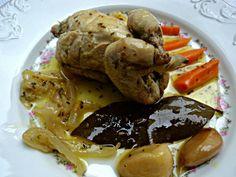 Receta de Codornices en escabeche - Pickled Quail recipe