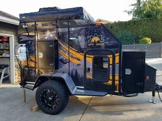 Custom Built Teardrop campers and off road expedition trailers, fully insulated and built to last!