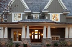Vertical Vinyl House Siding | vertical siding, color, windows