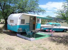 Colorado Camping @ Starlite Classic Campground in a 1962 Tepee Trailer