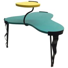 Image of Harry Siegel Memphis Inspired Side Table