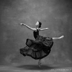 Misa Kuranga, Principal dancer, Boston Ballet Skirt by Leanne Marshall. Hair and makeup by Juliet Jane.