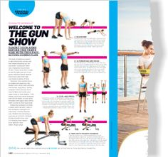 Arms for summer. Clipped from Women's Health using Netpage.