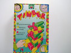 """Discovery Toys """"Timber"""" game"""