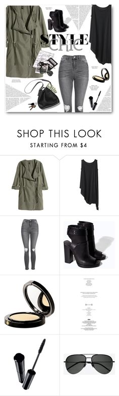 """""""***"""" by len-chica ❤ liked on Polyvore featuring H&M, Y's by Yohji Yamamoto, Topshop, Zara, 3.1 Phillip Lim, Elizabeth Arden, StyleNanda, Shiseido and Yves Saint Laurent"""