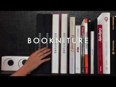 These Moleskine-Like Books Unfold Into Tables And Stools