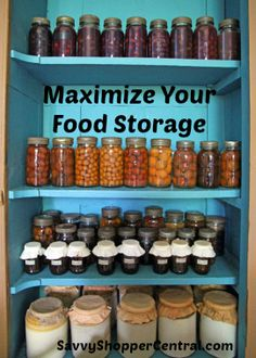 Maximize Your Food Storage