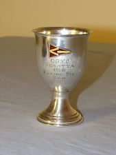 Choptank River Yacht Club Sterling Trophy Schofield Co 1956 *** 77 Grams ***