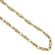 No locket is complete without the perfect chain. This Gold Multifaceted Link Chain glitters and gleams, complementing any of our gold lockets. Nickel and Gold alloy plating South Hill Designs, Gold Locket, Brass Chain, Chains, Link, Bracelets, Jewelry, Jewlery, Jewerly