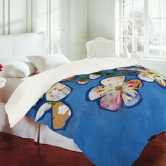 DENY Designs Home Accessories | Land Of Lulu Apple Blossoms 2 Duvet Cover