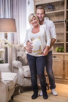 Lindsay en haar Bocholtse vriend Kris Bloemen weldra papa en mama.