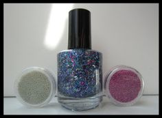 COMBO Party Time Topper Nail Polish with 2 Sets by BerrysCreations, $12.00
