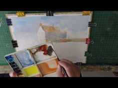 Successfull Summer Watercolour Landscapes With Robert Brindley RSMA - YouTube