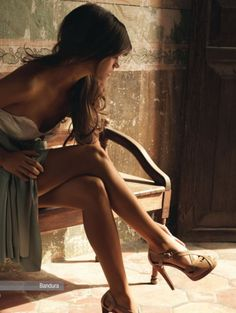 natural tan and shoes - the picture is beautiful!