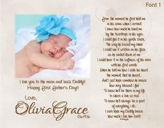First Father's Day Gift for New Daddy from by foxcreationsonline