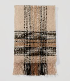 Primary Image of Plaid Blanket Scarf